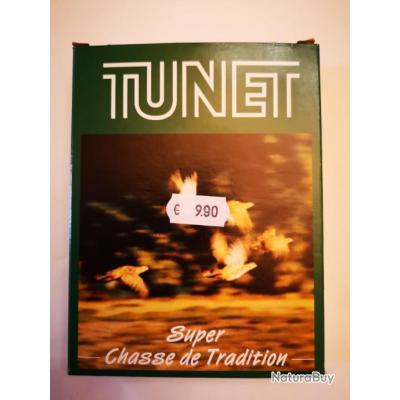 """Cartouches Tunet """"Super Chasse de Tradition"""" cal. 12/70 DESTOCKAGE!!!"""