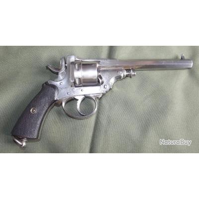 Peu courant Revolver Liègeois a système A. Drissen breveté calibre 380 fin XIXè