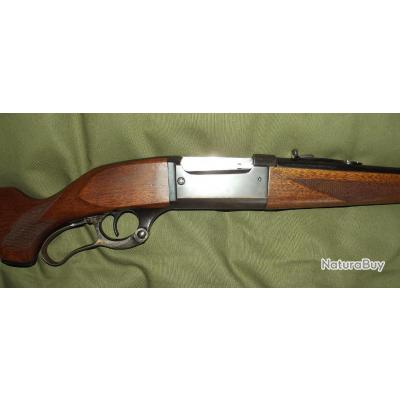 Peu courrante et belle  carabine savage modéle 1899
