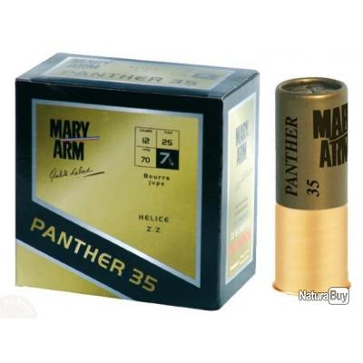 50 Cartouches de balltrap Mary Arm Panther 35 BR en plomb de 7 1/4