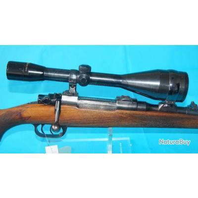 Carabine à verrou Brünner / cz, Calibre 7x57, détente stetcher, lunette de visée
