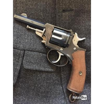 Revolver»Le Municipal « Manufacture de Saint Etienne calibre 8mm 92 circa 1910