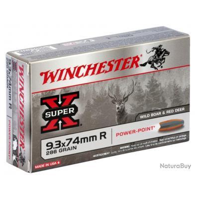 MUNITIONS WINCHESTER POWERPOINT CAL 9.3X74R 286GR