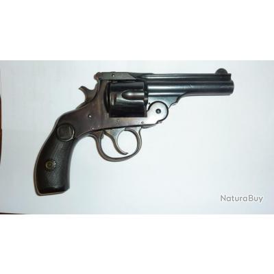 Révolver HARRINGTON  et RICHARDSON  2ème mod.1895 - cal.38S&W - Poudre noire