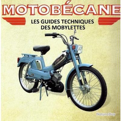 220 GUIDES TECHNIQUES des MOBYLETTES MOTOBECANE MOTOCONFORT MBK sur CD ROM