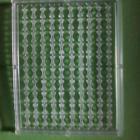 10 000 stop bouillette pêche carpe .100 plaquettes de 100. Grand modèle. 4 mm. Transparent.APPAT