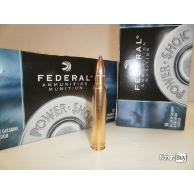 N267- LOT DE  20  BALLES FEDERAL CAL 300WIN MAGNUM 180gr .super promo