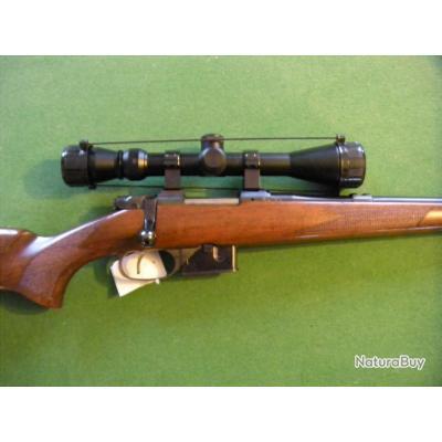 carabine  CZ 527 CALIBRE 222 ET LUNETTE 3-9X40  MISE A PRIX UN EURO