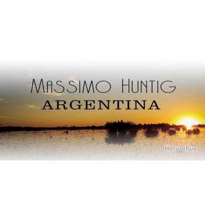A chasse en Argentine