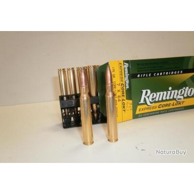 N374- 1 BOITE DE 20 BALLES CAL. 7X64 REMINGTON - PROMO!!!