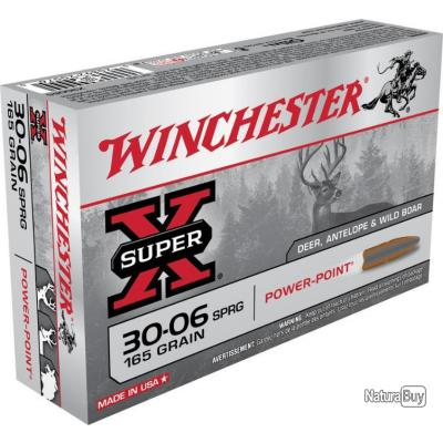 20 MUNITIONS WINCHESTER 30-06 165 GRAINS POWER POINT