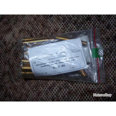 sachet de 20 douilles neuves SELLIER & BELLOT de calibre 8x57 JRS