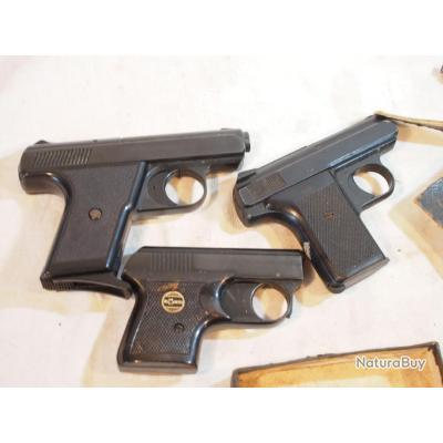 lot de pistolets d'alarme RECK ROHR en l'état  à réparer - vente sans retour et à restaurer ...