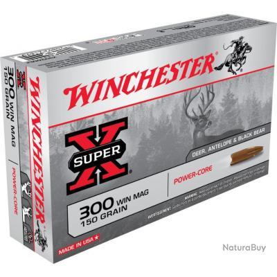 MUNITIONS WINCHESTER POWER CORE CAL 300WM 150GR
