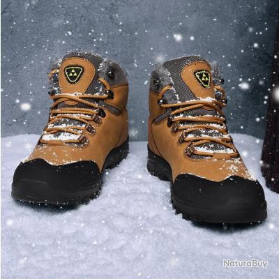 chaussures de randonnée hommes ou femme imperméable antidérapant SABLE  - LIVRAISON GRATUITE   !!