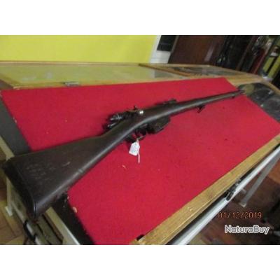 Fusil VETTERLI GARIBALDI M71 Cal 6.5x52 carcano