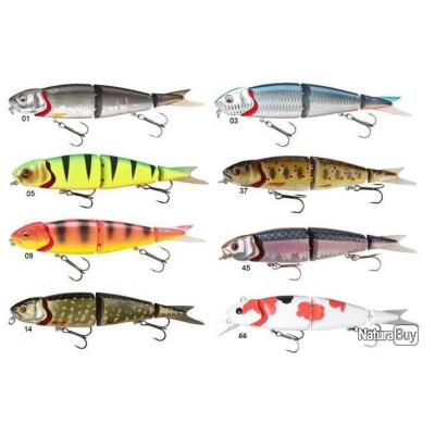 4PLAY HERRING LOWRIDER 13CM 21GR FLOATING coloris45 3d minnow