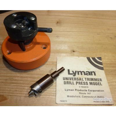 Transformez votre perceuse à colonne en case trimmer universel LYMAN - Introuvable!!!