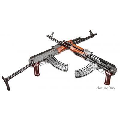 FUSIL AUTOMATIQUE AKMS AK47, ETAT NEUF DE STOCK