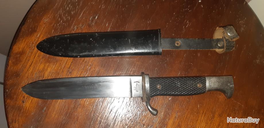 Hubertus Couteau Fourreau pour couteau de chasse couteau solingen chevalier top qualite allemande