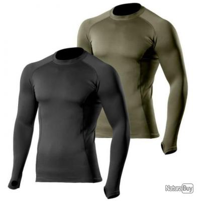 Maillot Thermo Performer Noir Niveau 3