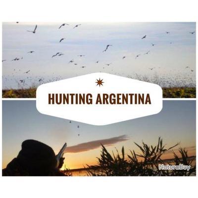 Argentine de 5 à 10 jours de chasse et possibilités de pêche
