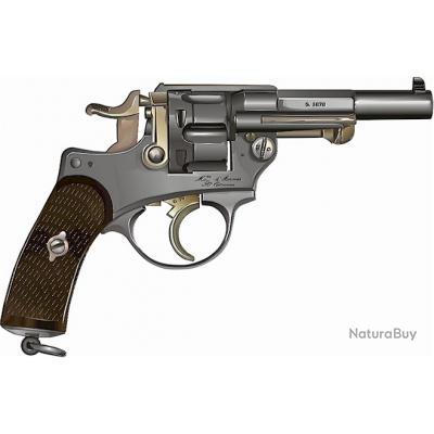 Ebook - Revolver réglementaire Chamelot-Delvigne modèle 1873 expliqué