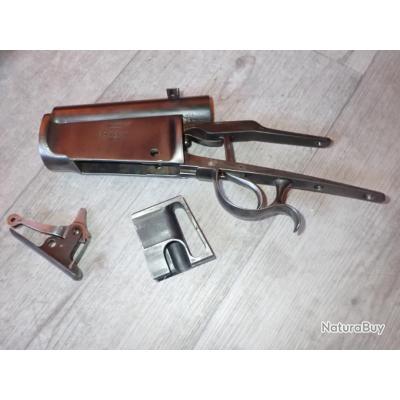 Lot de 3 pièces détachées pour fusil Vetterli 1881