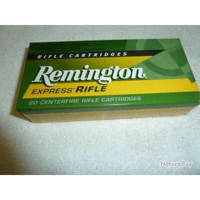 balles 222 REMINGTON EXPRESS RIFLE 50 GR