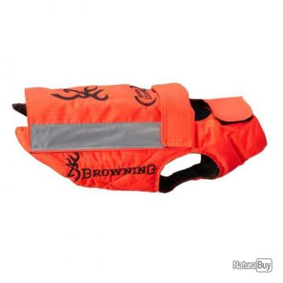 Gilet de protection pour chien Browning Protect Hunter orange cm