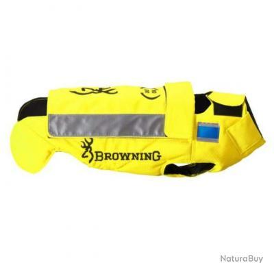 Gilet de protection pour chien Browning Protect Pro EVO jaune cm