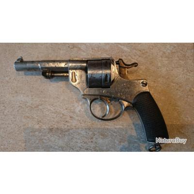 Revolver 1873 Chamelot Delvigne d'ordonnance, Manufacture d'Armes de Saint-Étienne, 1876