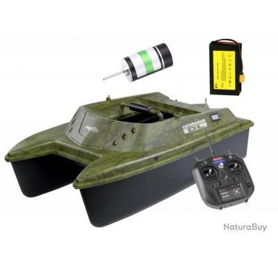 Bateau amorceur Anatec Catamaran dl oak + lithium +brushless+de-sr07