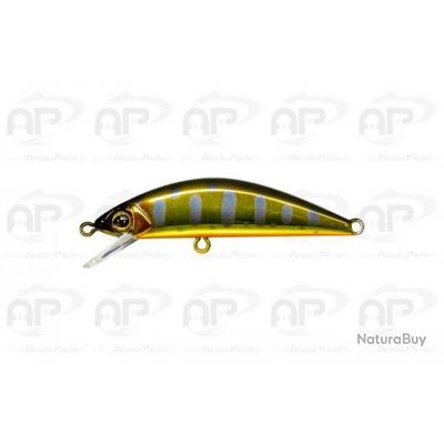 Leurre Truite illex Tricoroll 47 3.2gr 4,7cm Haku Gold Trout
