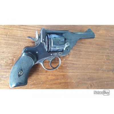 Webley pocket Mk III, calibre 38 S&W, avec speedloader