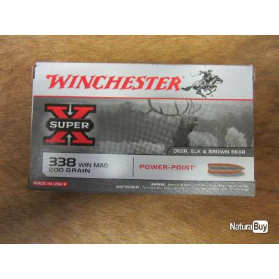 WINCHESTER Power Point 338 Win. Mag  200 grains