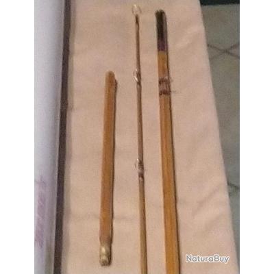 Vends canne mouche bambou refendu 7,6'.