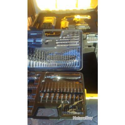 perseuse sans fils DEWALT 10  8V  lithium 1 5A MODELE  DCK 710S2FZT
