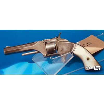 .22 Short Smith & Wesson Revolver No. 1 deuxieme issue - environ 1861 -  pas Colt Webley Winchester