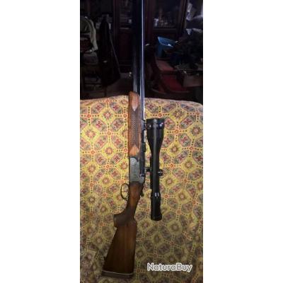 Fusil carabine mixte cal 12 et 7 x 65 R Antonio Zoli