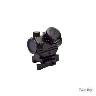 Point rouge tubulaire Elite micro dot avec montage amovible - Micro Dot avec montage