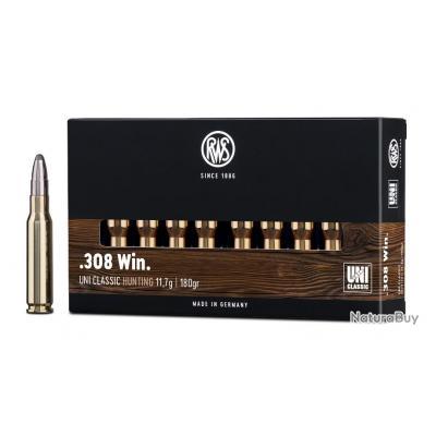 308 WIN UNI CLASSIC 11.7G 180GR