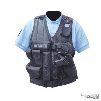 Gilet OPEX Force Intervention Gaucher