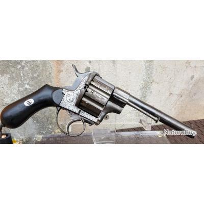 Gros revolver a broche 10 coups cal 12 mm