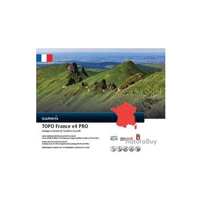 CARTE GARMIN Topo France + corse PRO V4  Alpha 100 & Alpha 50