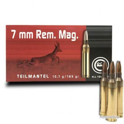 Balles Geco T Mantel Semi Blindée Cal. 7mm Rem Mag Soft Point