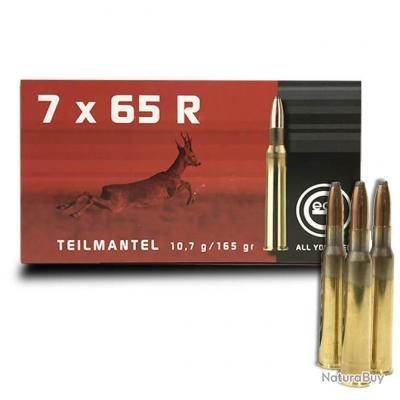 Balles Geco Teilmantel Semi blindée Cal. 7x65R Soft Point Bullet