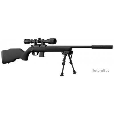 Carabine 22lr Webley & Scott : pack silence