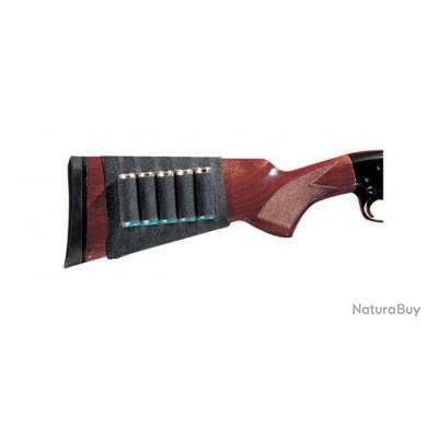 Cartouchière de crosse GUNMATE pour fusil 5 cartouches