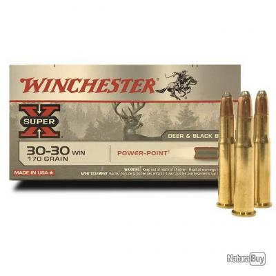 Winchester Power Point 30-30 Win : 170 Grs